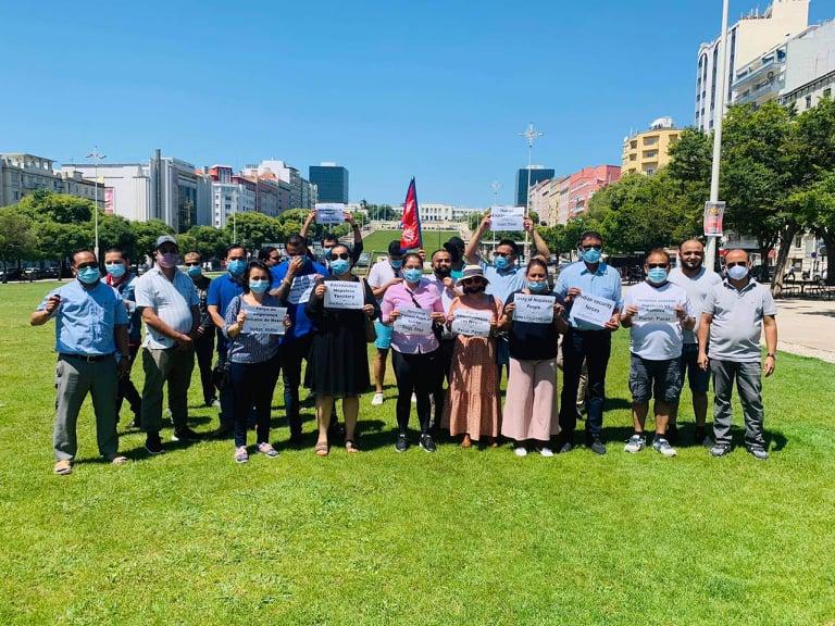 पोर्चुगलका २५ नेपाली संघ-संस्थाद्वारा भारतीय अतिक्रमणको विरोध