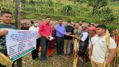 ग्रीनविच भलिबल परिवारद्वारा नेपालमा बाढी पहिरो पिडितहरुलाई आर्थिक सहयोग