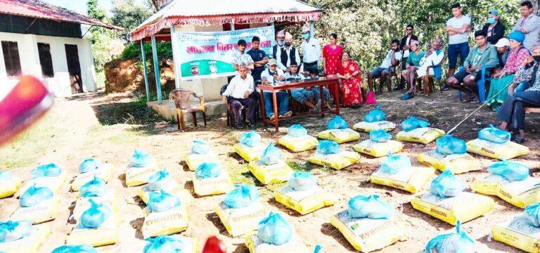 युथ एशोसिएशन यूकेद्वारा धादिङको ज्वालामुखी गाउँमा राहत वितरण: 'सेबा नै धर्म हो'
