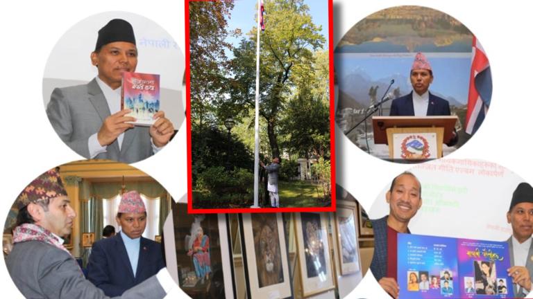 संविधान दिवसको अवसरमा बेलायतको राजदूताबासमा त्रिदिवसीय कार्यक्रम: एकसातासम्म नेपाली कला प्रदर्शनी