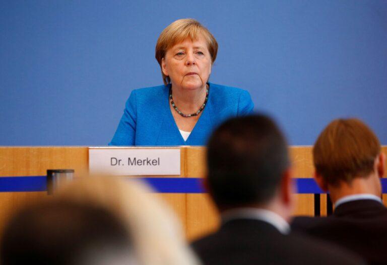 जर्मनीमा कोरोना सङ्क्रमणको गम्भीर अवस्था आएको  चान्सलर मार्केलको भनाइ