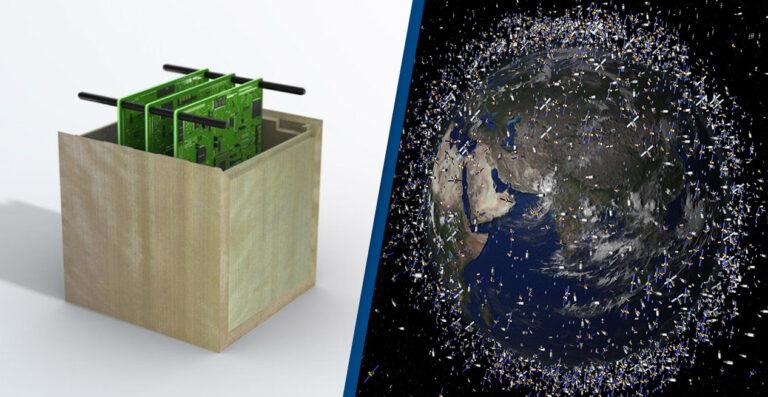 अन्तरिक्षमा फोहोर कम गर्न जापानले विश्वको पहिलो काठको भूउपग्रह बनाउने