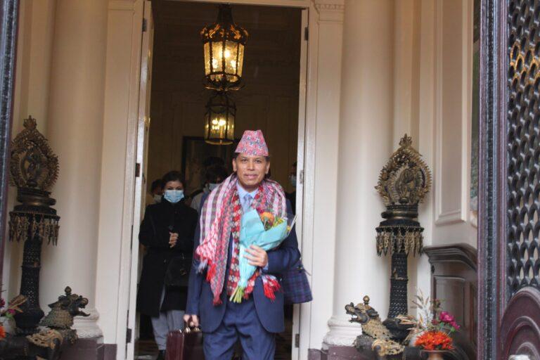 राजदूत डा. सुवेदी चार वर्षे कार्यकाल पुरा गरी नेपाल फर्किए
