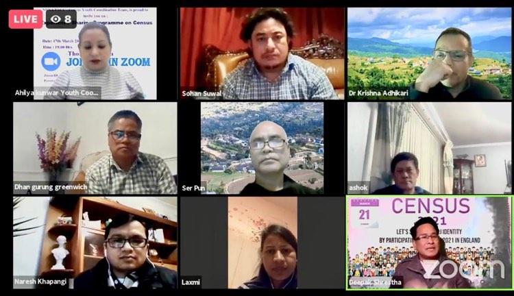 जनगणना अभियान युथ कोर्डिनेटर कुँवरको पहलमा सामाजिक अभियन्ताहरुकाबीच छलफल