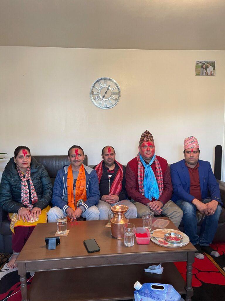 शान्ति नेपाली समाज बर्मिङ्घममा भोजराज भण्डारी अध्यक्षमा निर्विरोध