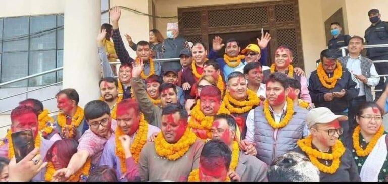 नेपाल पत्रकार महासंघको अध्यक्षमा प्रेस युनियन निकट विपुल पोखरेल निर्वाचित