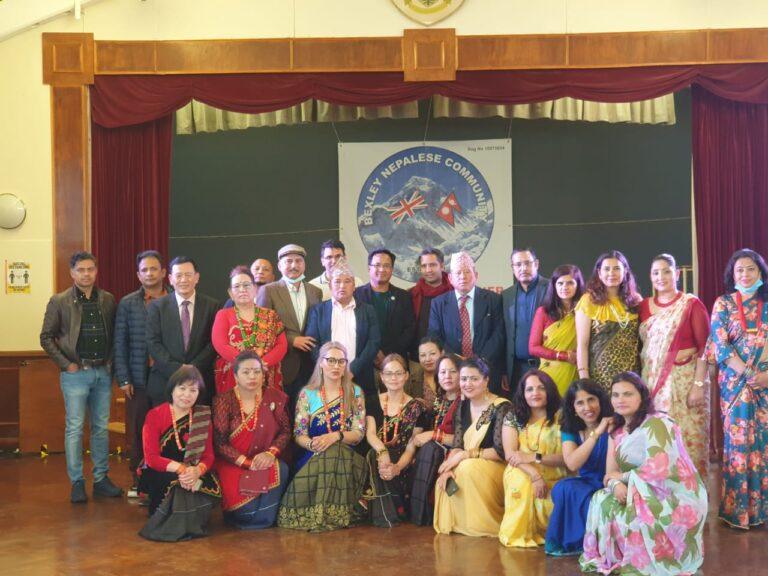 बेक्सली नेपाली कम्युनिटि लण्डनले एनआरएनए  युकेको निर्बाचनमा अध्यक्ष पदका लागि दीपक श्रेष्ठ लाई सघाउने निर्णय